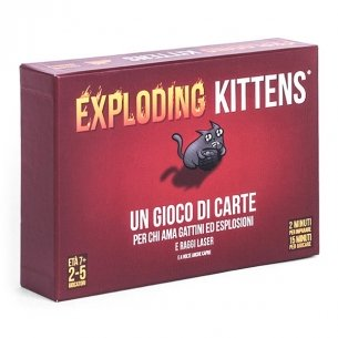 Exploding Kittens Grandi Classici