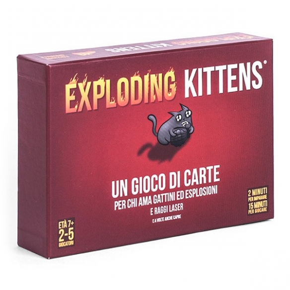 Exploding Kittens Party Games