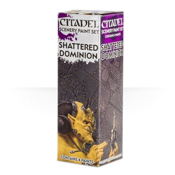 Citadel Paint Set - Scenery - Shattered Dominion Set di Pittura