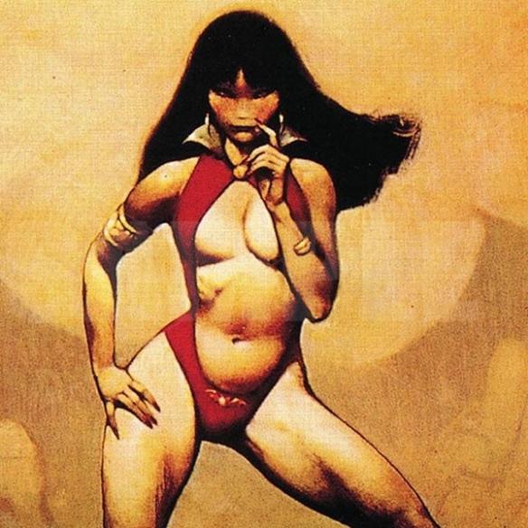Ultra Pro - Playmat - Frank Frazetta Vampire Mistress Playmat