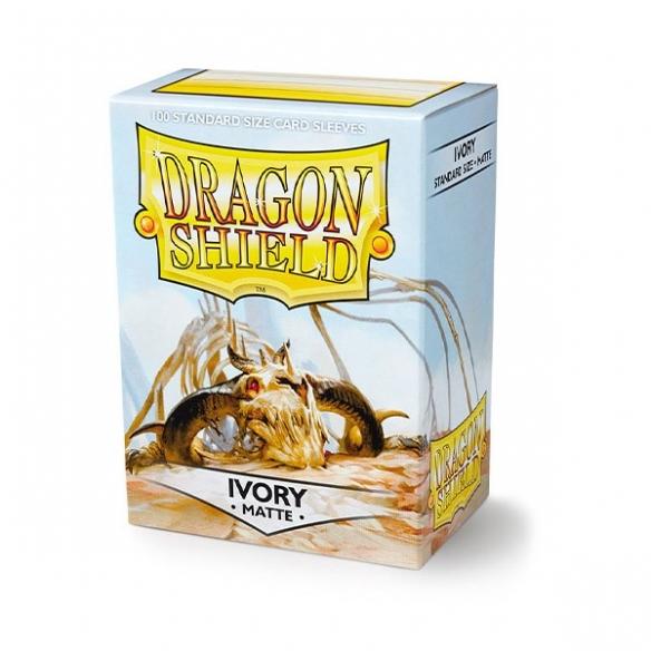 Dragon Shield - Matte Ivory - Standard (100 bustine) Bustine Protettive
