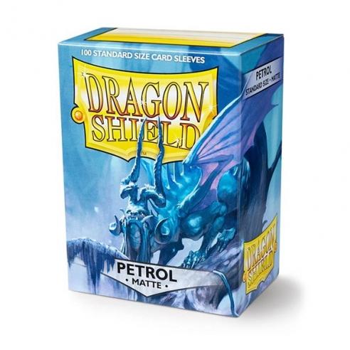 Dragon Shield - Matte Petrol - Standard (100 bustine) Bustine Protettive