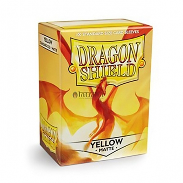 Dragon Shield - Matte Yellow - Standard (100 bustine) Bustine Protettive