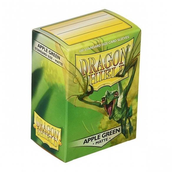Dragon Shield - Matte Apple Green - Standard (100 bustine) Bustine Protettive