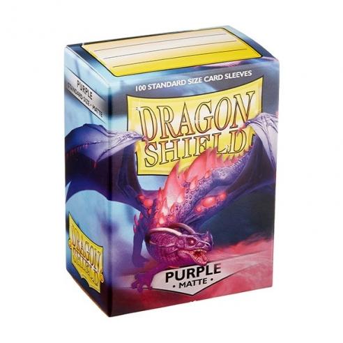 Dragon Shield - Matte Purple - Standard (100 bustine) Bustine Protettive