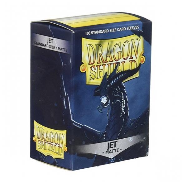 Dragon Shield - Matte Jet - Standard (100 bustine) Bustine Protettive