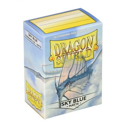 Dragon Shield - Matte Sky Blue - Standard (100 bustine) Bustine Protettive