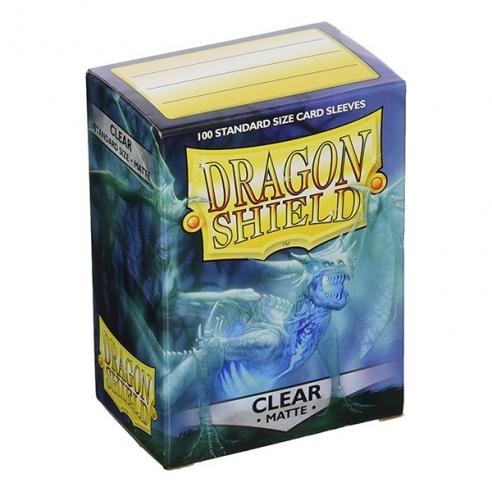Dragon Shield - Matte Clear - Standard (100 bustine) Bustine Protettive