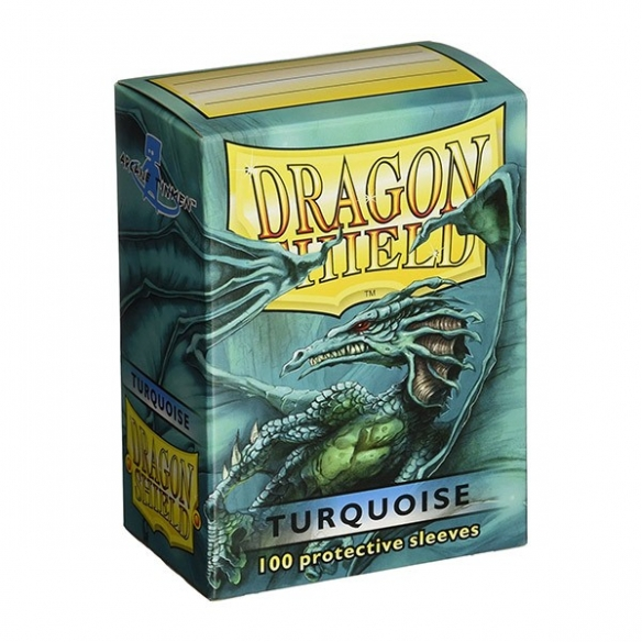 Dragon Shield - Classic Turquoise - Standard (100 bustine) Bustine Protettive