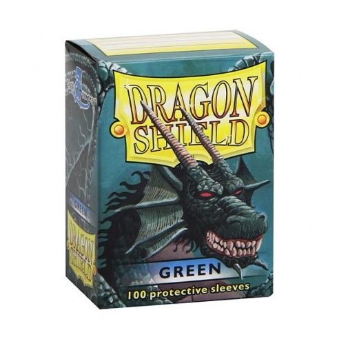 Dragon Shield - Classic Green - Standard (100 bustine) Bustine Protettive