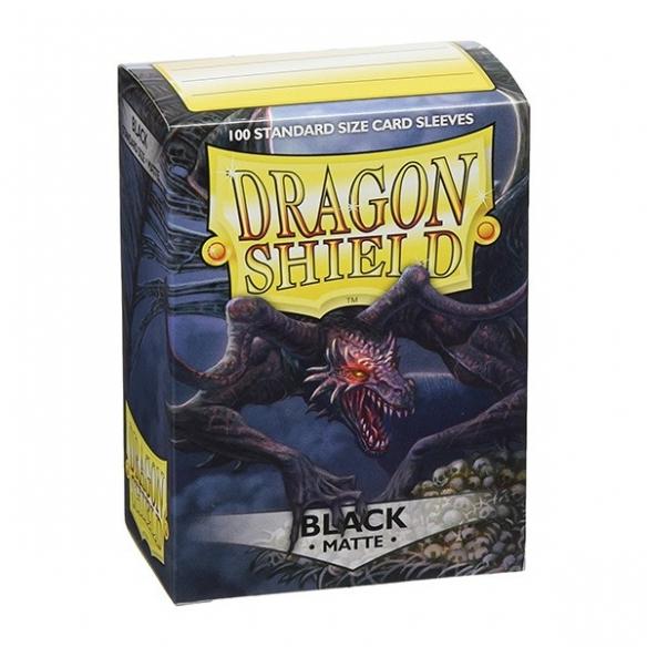 Dragon Shield - Matte Black - Standard (100 bustine) Bustine Protettive