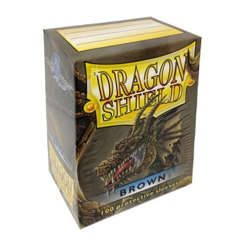 Dragon Shield - Classic Brown - Standard (100 bustine) Bustine Protettive