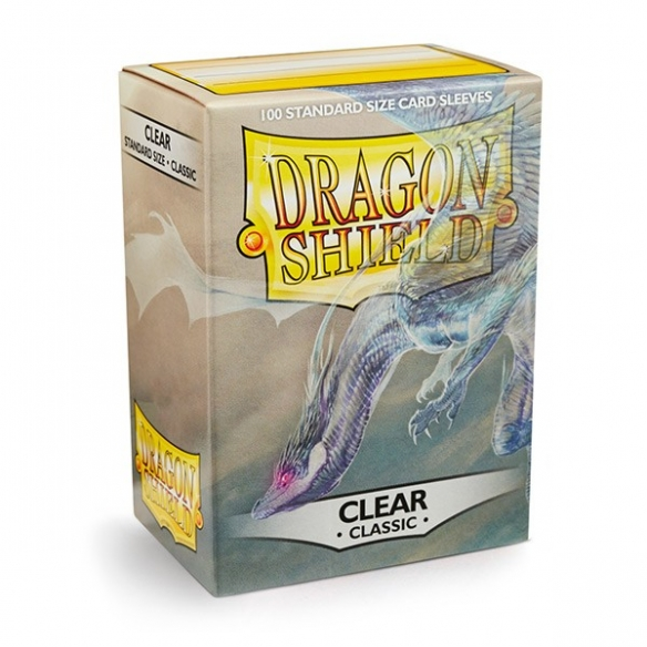 Dragon Shield - Classic Clear - Standard (100 bustine) Bustine Protettive