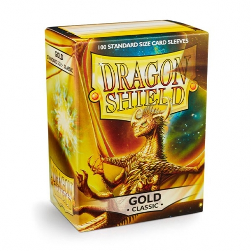 Dragon Shield - Classic Gold - Standard (100 bustine) Bustine Protettive