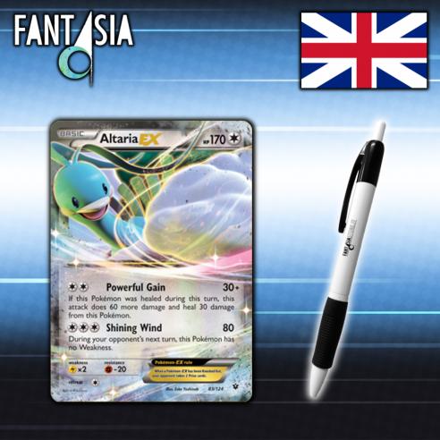 Altaria EX - Carta Pokemon ENG - Destini Incrociati 83/124 + Penna Fantàsia Home