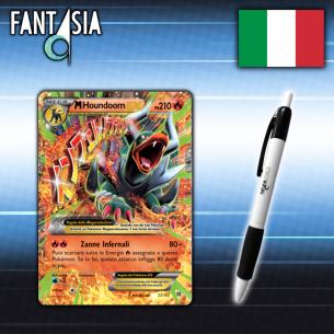 MHoundoom EX - Carta Pokemon ITA - TurboBlitz 22/162 + Penna Fantàsia Fantàsia 14,90€