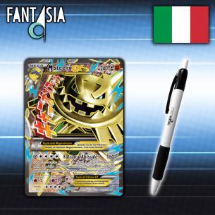 MSteelix EX - Carta Pokèmon ITA - Vapori Accesi 109/114 + Penna Fantàsia Fantàsia 19,90€