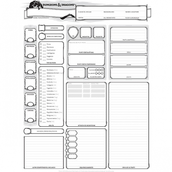 D&D - Manuale Del Giocatore Manuali