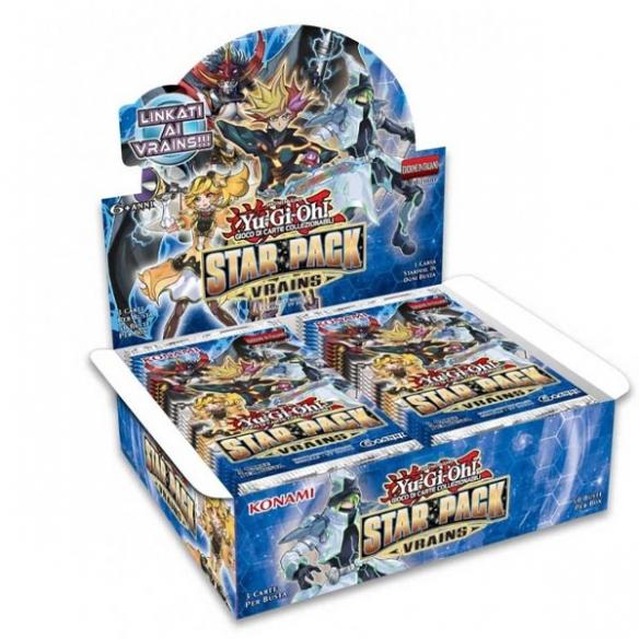 Star Pack 2018 Vrains - Display 50 Buste (ITA - 1a Edizione) Box di Espansione
