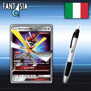 Kartana GX - Carta Pokèmon ITA - Invasione Scarlatta 70/111 + Penna Fantàsia Fantàsia 12,90€