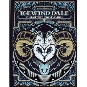 Dungeons & Dragons - Icewind Dale: Rime of the Frostmaiden - Limited Edition Alternate Cover (ENG) Manuali
