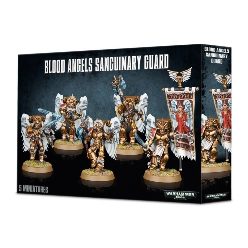 Blood Angels - Sanguinary Guard Blood Angels