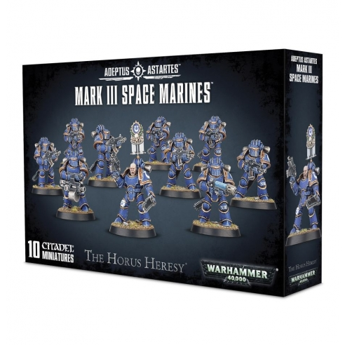 Space Marines - Mark III Space Marines Space Marines