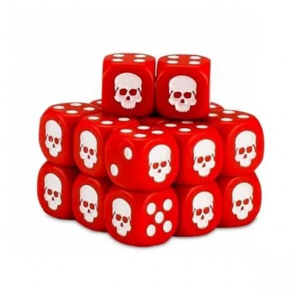 Cubo dei Dadi - Rosso Dadi