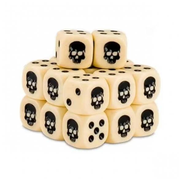 Cubo dei Dadi - Bianco Dadi
