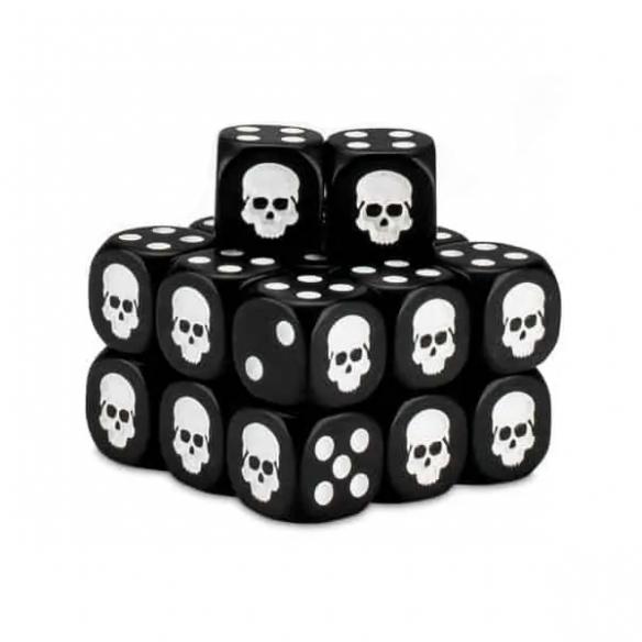 Cubo dei Dadi - Nero Dadi