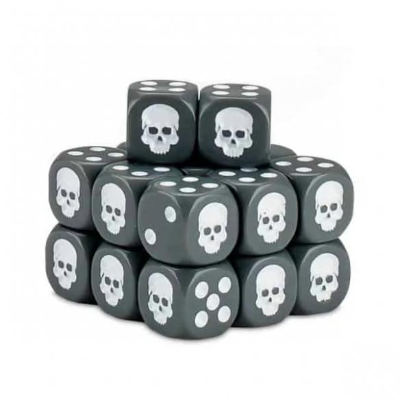Cubo dei Dadi - Grigio Dadi