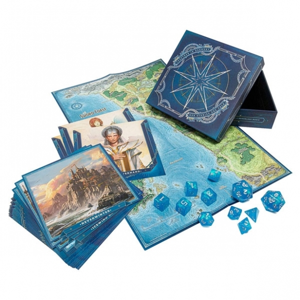 Dungeons & Dragons - Forgotten Realms: Laeral Silverhand's Explorer's Kit (ENG) Accessori