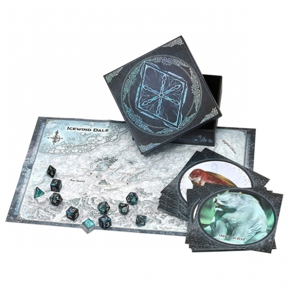 Dungeons & Dragons - Icewind Dale: Rime of the Frostmaiden (ENG) Dice Set Accessori