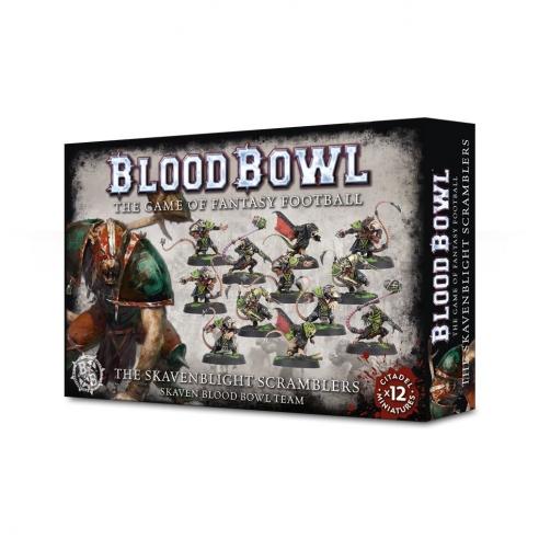 Blood Bowl - The Skavenblight Scramblers Team