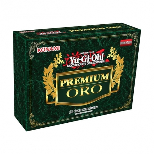 Premium Oro - Busta 10 Carte (ITA) Bustine Singole Yu-Gi-Oh!