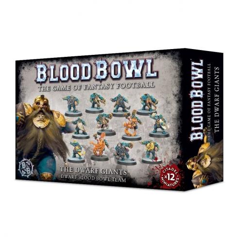 Blood Bowl - The Dwarf Giants Team