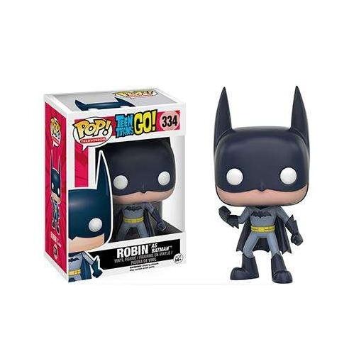 Funko Pop 334 - Robin as Batman - Teen Titans Go! Funko