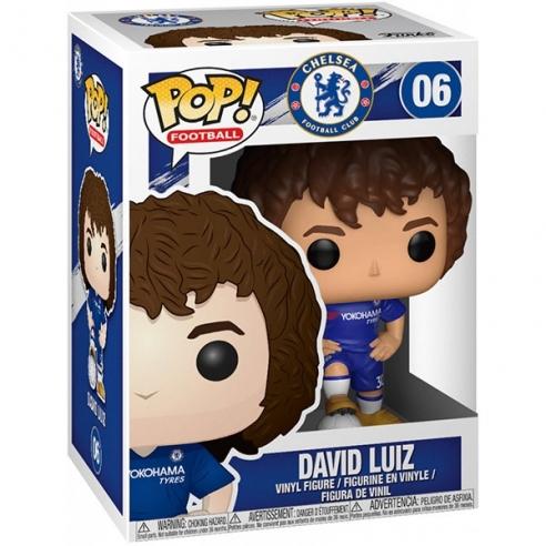 Funko Pop Football 06 - David Luiz - Chelsea Football Club Funko