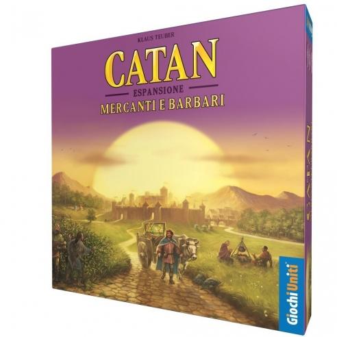 Catan - Mercanti E Barbari (Espansione) Grandi Classici