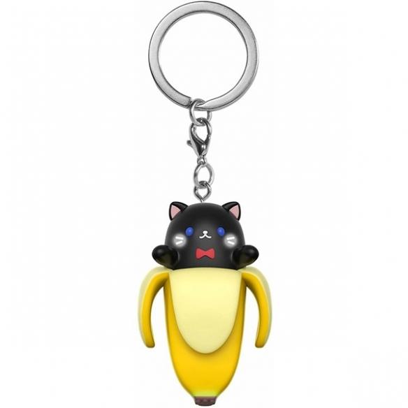 Funko Keychain - Black Bananya - Bananya Keychain