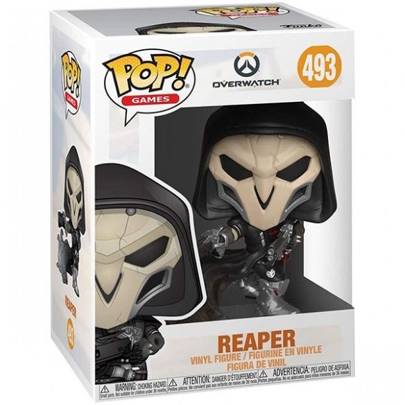 Funko Pop Games 493 - Reaper - Overwatch Funko