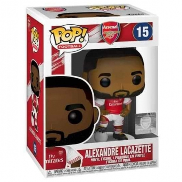 Funko Pop Football 15 - Alexandre Lacazette - Arsenal Funko