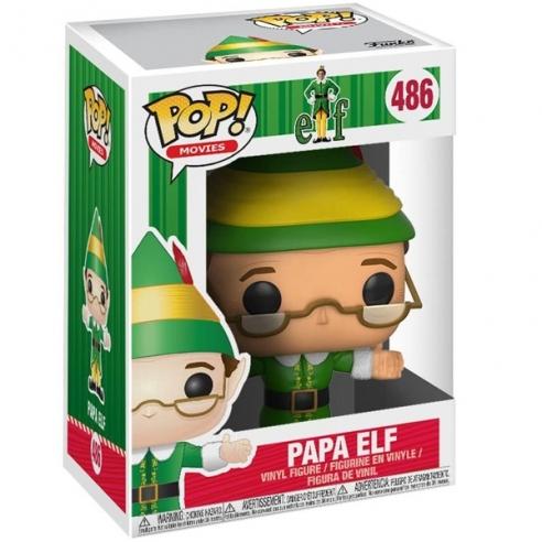 Funko Pop Movies 486 - Papa Elf - Elf Funko