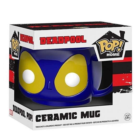 Funko Pop Home - Blue Deadpool Ceramic Mug Funko