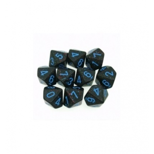 Set d10 Speckled Blue Stars - Chessex CHX 25138 Chessex 7,90 €