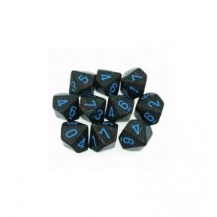 Set d10 Speckled Blue Stars - Chessex CHX 25138 Chessex 7,90€