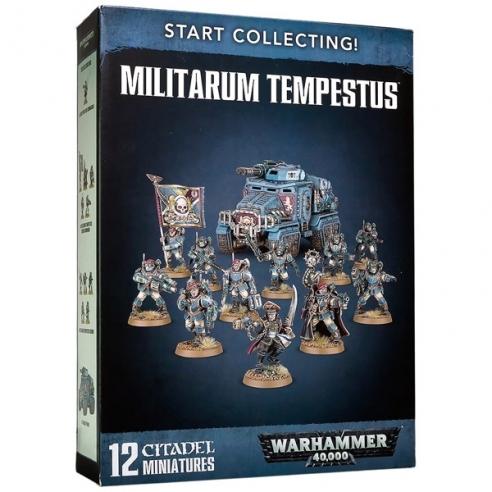 Start Collecting! Militarum Tempestus 8a Edizione Astra Militarum