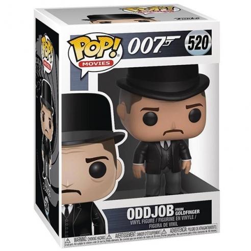Funko Pop Movies 520 - OddJob from Goldfinger - 007 Funko