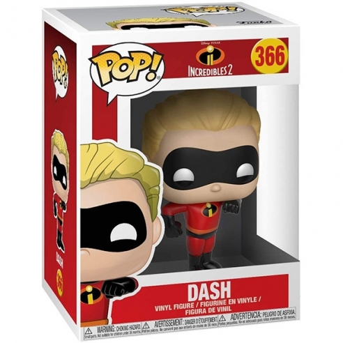 Funko Pop 366 - Dash - The Incredibles 2 Funko