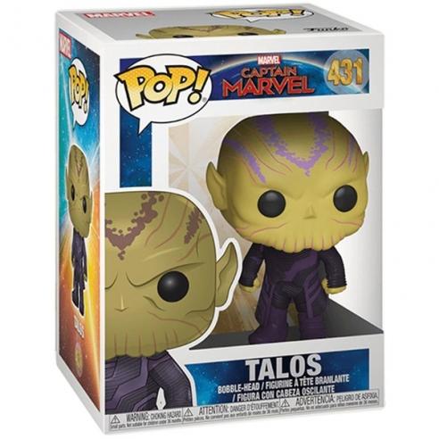 Funko Pop 431 - Talos - Captain Marvel Funko
